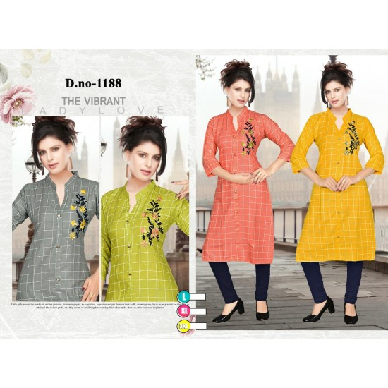 Catalog of Formal Elegant kurti For Ladies