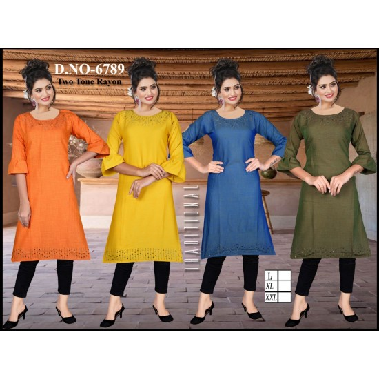 AMD Catalog of Fancy And Fabulous Kurti For Ladies