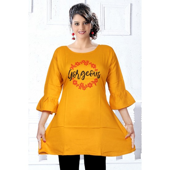 AMD Catalog of Amazing Rayon Top For Ladies