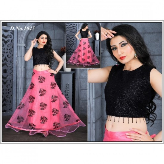 Party Wear And Beautiful Crop top For Ladies