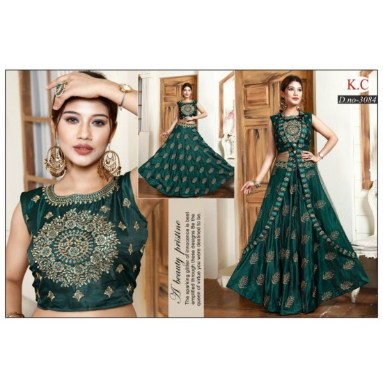 Amd Amazing Beautiful Dress With Shrung For Ladies