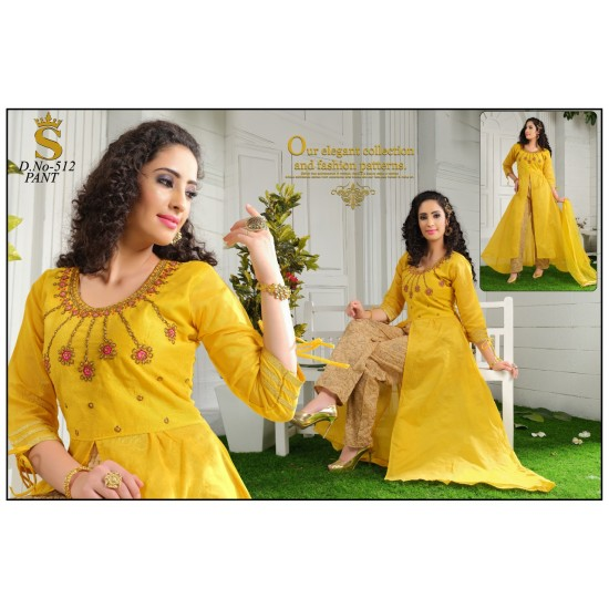 AMD colourfull indo western For Women