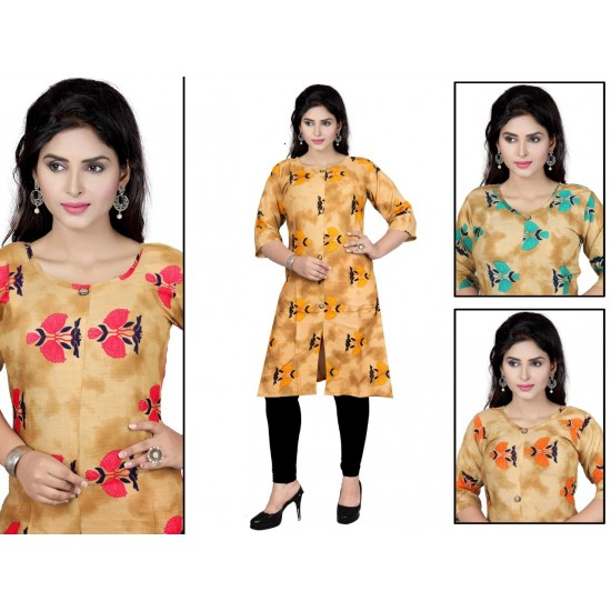 Catalog of Elegant Designer Rayon Kurti For Women