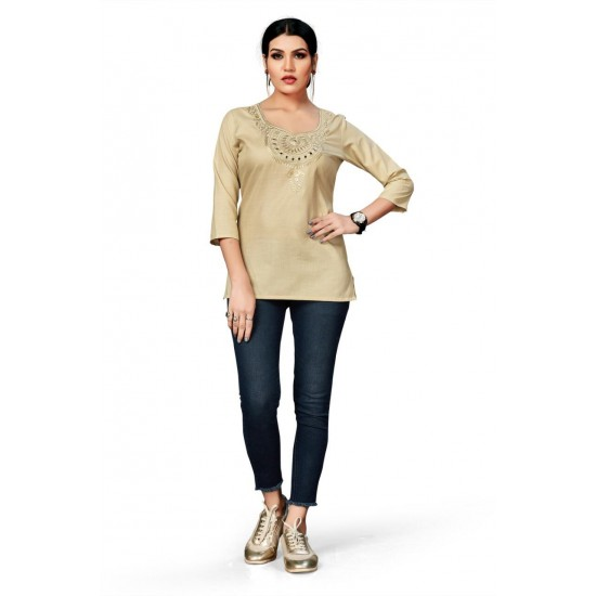 Catalog of  Embroidery Stylish Top For Women