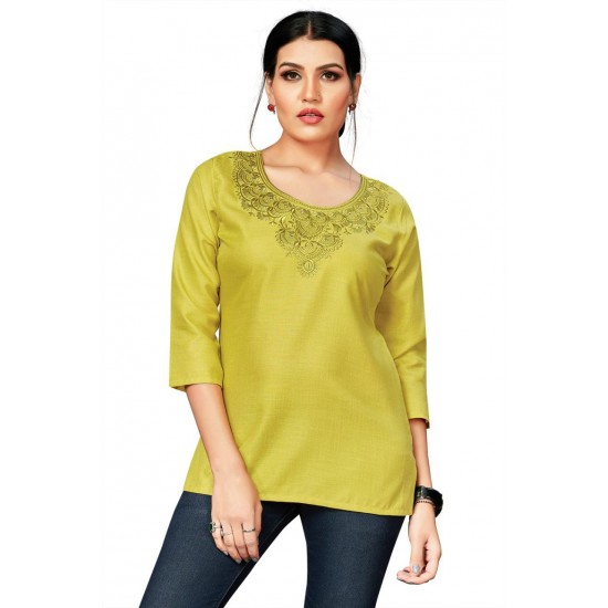Catalog of  Stylish and Embroidery Top For Ladies