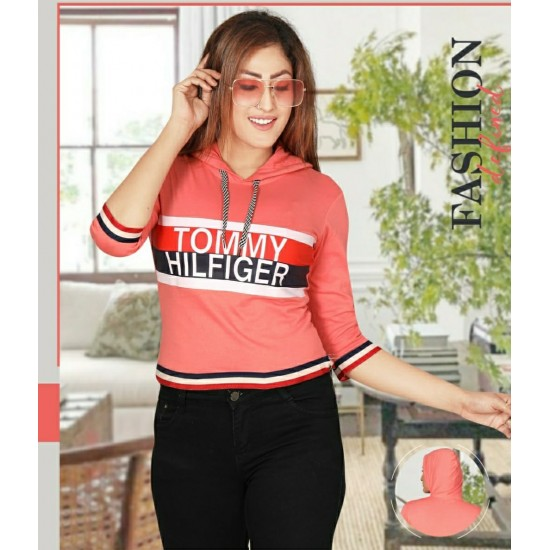 Delhi Casual Wear  Imported lycra Fancy Top