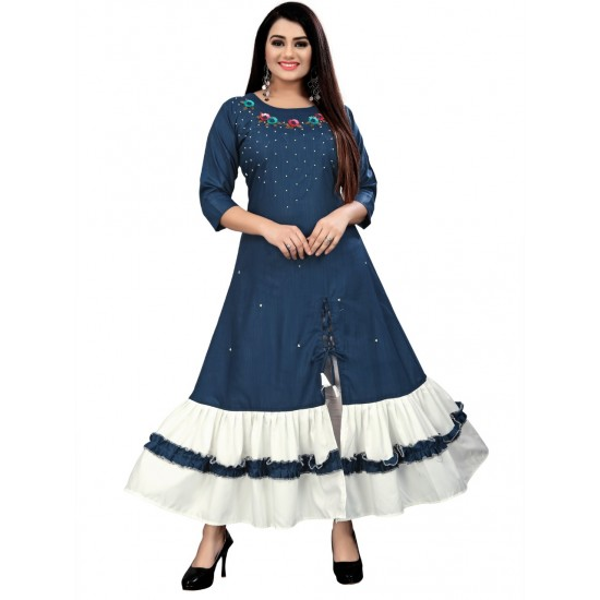 Party Wear And Beautiful Formal Gown  For Ladies