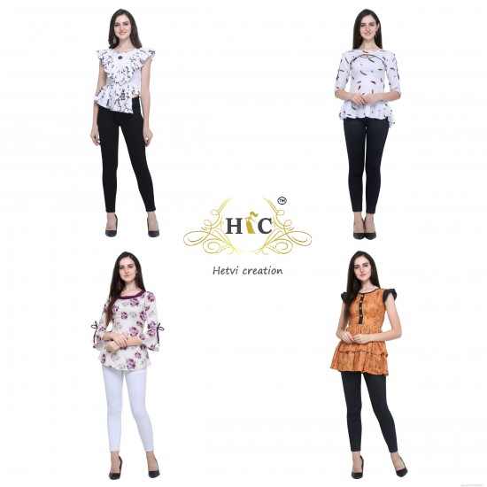 Catalog of Beautiful Different Stylish Top For Women
