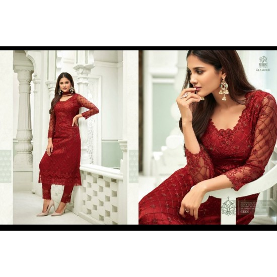 women-sharara-suite-Net-With-Embroidery-work-mohini